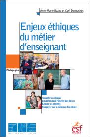 """couverture de l'ouvrage """"Enjeux éthiques du métier d'enseignant"""""""
