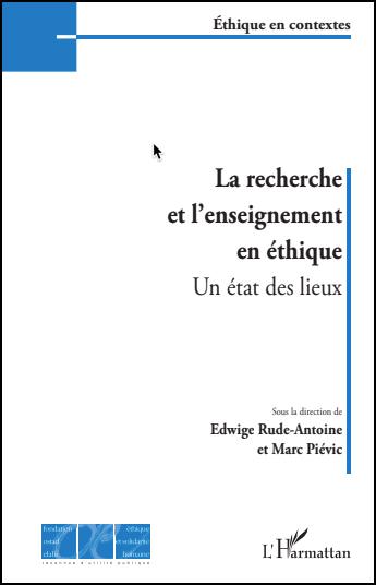 recherche et à l'enseignement en éthique